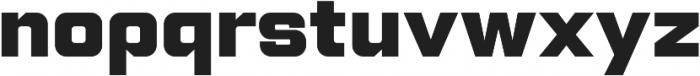 Lustra Text Black otf (900) Font LOWERCASE