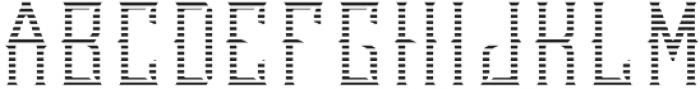 LutonFont TextureFX otf (400) Font UPPERCASE