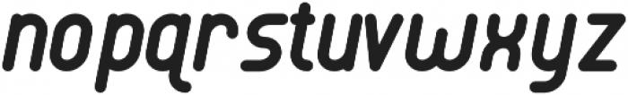 Luwest Rounded Italic otf (400) Font LOWERCASE