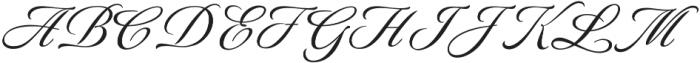 LuxuriousPro otf (400) Font UPPERCASE