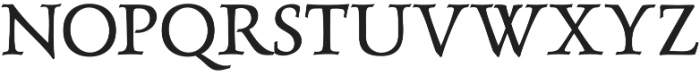 LuxuriousRoman otf (400) Font UPPERCASE