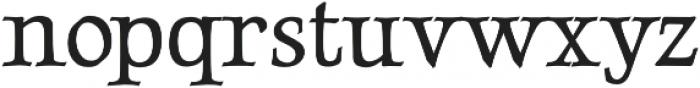 LuxuriousRoman otf (400) Font LOWERCASE