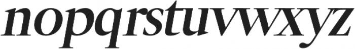 Luzia Bold Italic otf (700) Font LOWERCASE
