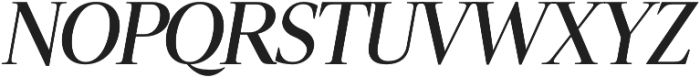 Luzia SemiBold Italic otf (600) Font UPPERCASE