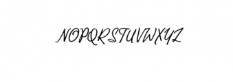 Lucyna-Script.otf Font UPPERCASE