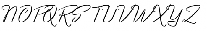 Luxus Brut Font UPPERCASE
