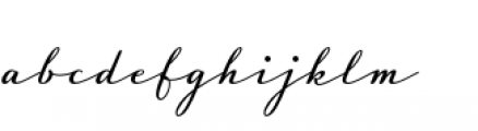 Luxus Brut Font LOWERCASE