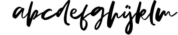 LUISA SCRIPT Font LOWERCASE