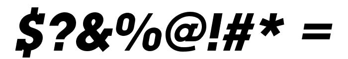 LubalinGraphStd-BoldOblique Font OTHER CHARS