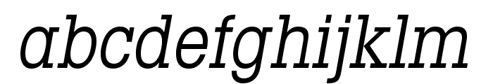 LubalinGraphStd-BookCondObl Font LOWERCASE