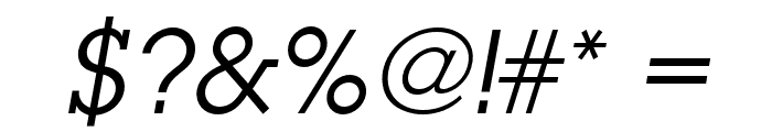 LubalinGraphStd-BookOblique Font OTHER CHARS