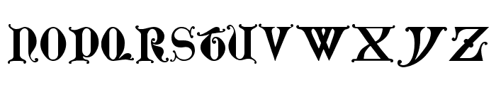 Lubeck Font LOWERCASE