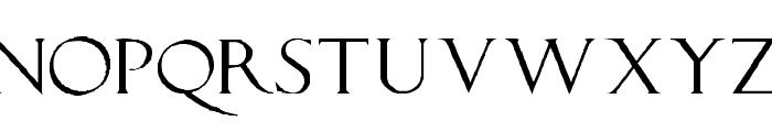 LucaPacioliRough Font UPPERCASE