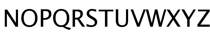 Lucida Sans Unicode Font UPPERCASE