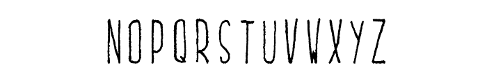 Lucidity Ballpoint Font LOWERCASE