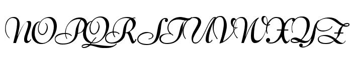 Lucien Schoenschriftv CAT Font UPPERCASE