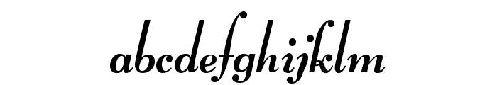 Lucien Schoenschriftv CAT Font LOWERCASE