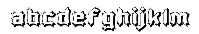 Luciferius Infernitus Font LOWERCASE