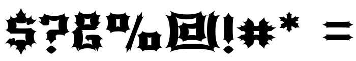 Luciferius Font OTHER CHARS