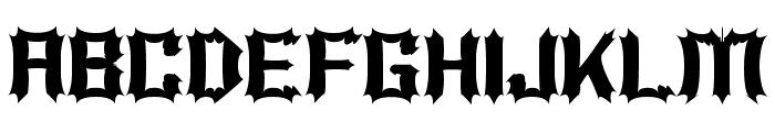 Luciferius Font UPPERCASE