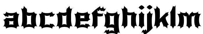Luciferius Font LOWERCASE
