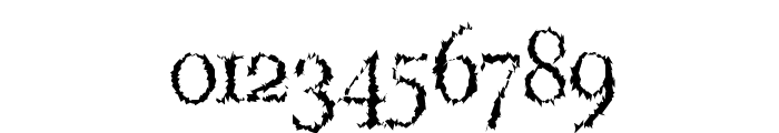 LucifersPension Roman Font OTHER CHARS