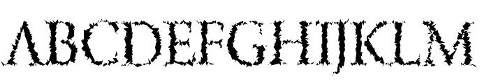 LucifersPension Roman Font UPPERCASE
