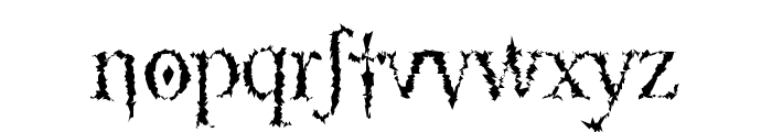 LucifersPension Roman Font LOWERCASE