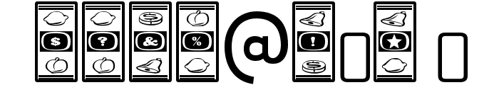 LuckyApe-Regular Font OTHER CHARS