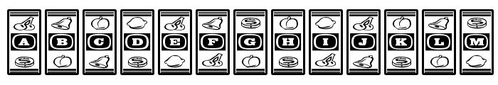 LuckyApe-Regular Font LOWERCASE