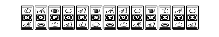 LuckyApe Font UPPERCASE