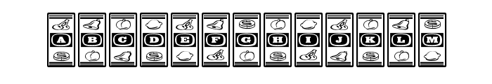 LuckyApe Font LOWERCASE