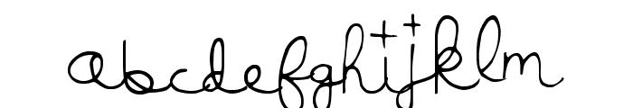 LuckyMoney Font LOWERCASE