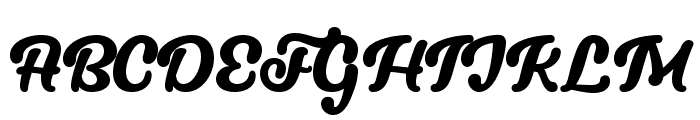 Lucy the Cat Regular Font UPPERCASE