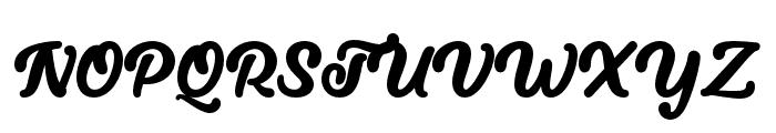 LucytheCat-Regular Font UPPERCASE