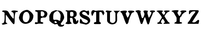 Ludger Duvernay Regular Font UPPERCASE