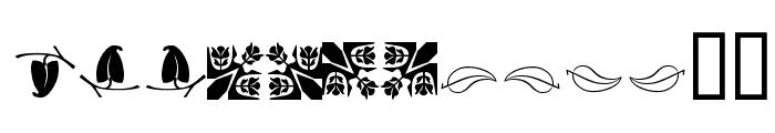 Ludlow Dingbats Font UPPERCASE