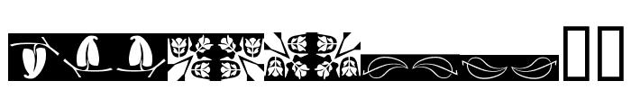 Ludlow Dingbats Font LOWERCASE