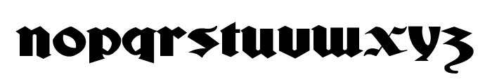 Ludlow Strong Ale Font LOWERCASE