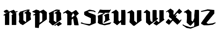 LudwigHohlwein Font UPPERCASE