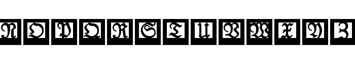 LufrakturBricks Font UPPERCASE