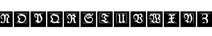 LufrakturBricks Font LOWERCASE