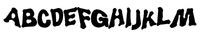 LuggerBug Font UPPERCASE