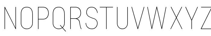 Lugina FP Light Font UPPERCASE