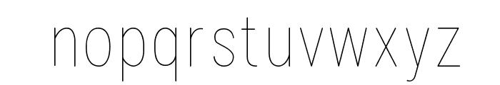 Lugina FP Light Font LOWERCASE