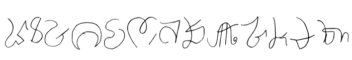 Luis Ornamental Regular Font UPPERCASE