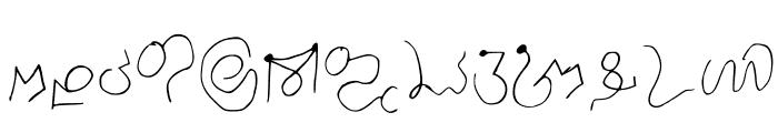 Luis Ornamental Regular Font LOWERCASE