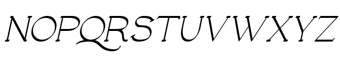 Luisa Italic Font UPPERCASE