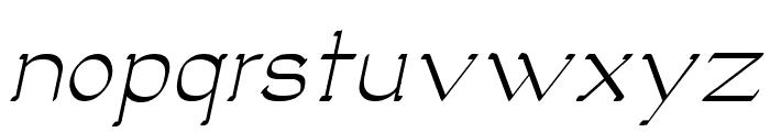 Luisa Italic Font LOWERCASE