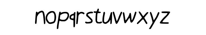 Luki_s_Handwrited_Font Font LOWERCASE
